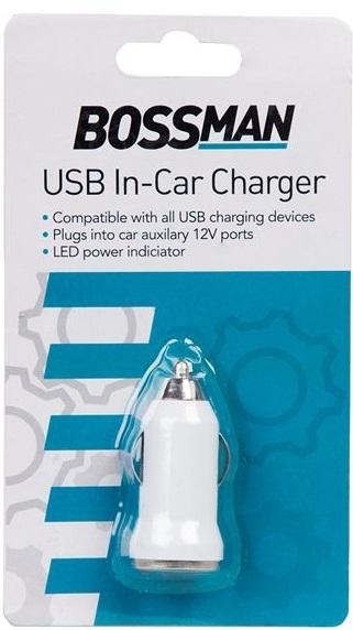 Bossman USB auto lader 12V B2970