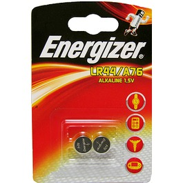 Energizer LR44 A76 batterij