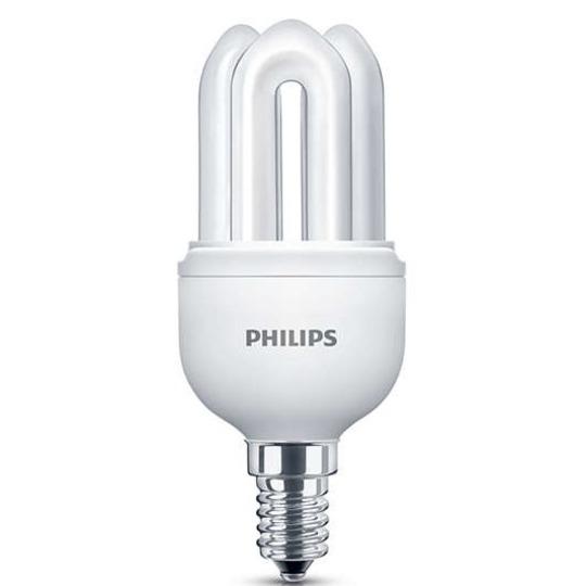 philips 5w e14 genie spaarlamp groothandel in batterijen. Black Bedroom Furniture Sets. Home Design Ideas