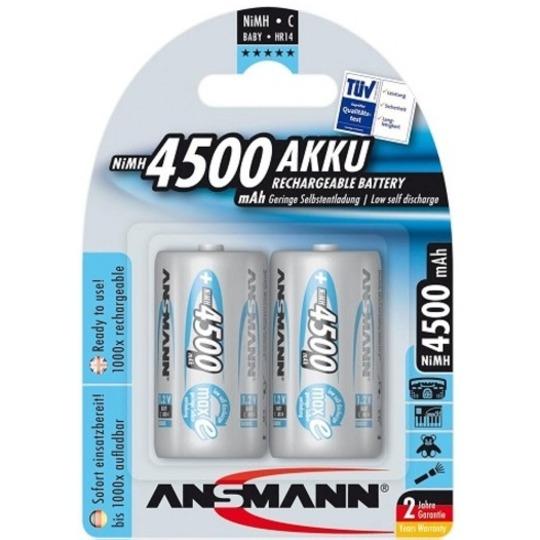 ansmann c hr14 4500mah max e groothandel in batterijen en lichtbronnen. Black Bedroom Furniture Sets. Home Design Ideas