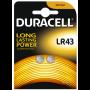 Duracell Alkaline battery LR43
