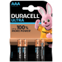 Duracell Duralock Ultra Power 1,5V 4pack