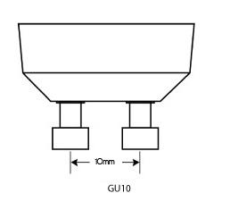 GU10 lampvoet | De Energiebron BV - Groothandel in batterijen en lichtbronnen