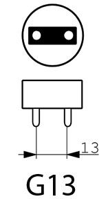 G13 Lampvoet | De Energiebron BV - Groothandel in batterijen en lichtbronnen