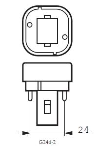 G24D-3 Lampfitting  | De Energiebron BV - Groothandel in batterijen en lichtbronnen